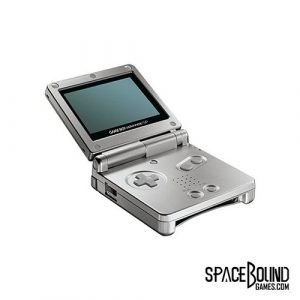 Game Boy Advance 001 Platinum